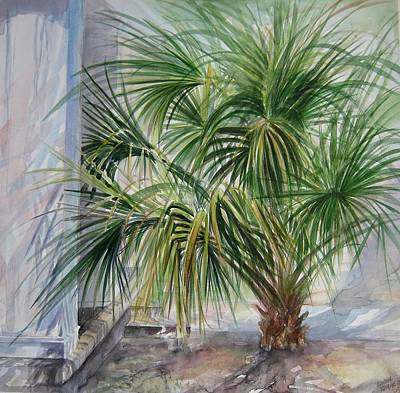 Painting - Little Palm by Gloria Turner