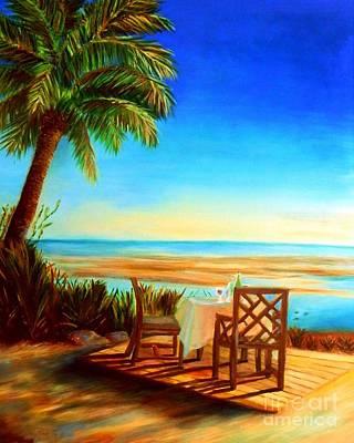 Little Palm Island - Little Torch Key Art Print by Shelia Kempf