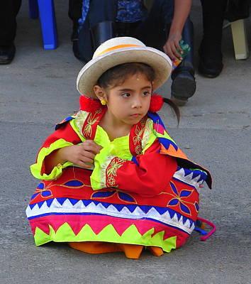 Photograph - Little Peruvian Dancer by Lew Davis