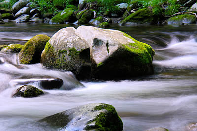 Photograph - Little Piegon River Gatlinburg Tennessee by Jerome Lynch