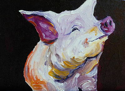 Little Pig Little Pig Original by Terri  Rice