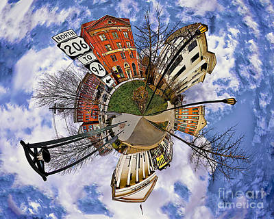 Photograph - Little Planet Newton by Mark Miller