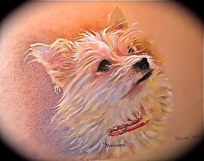 Painting - Little Princess by Patricia Schneider Mitchell