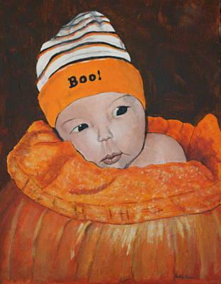 Painting - Little Pumpkin by Betty-Anne McDonald