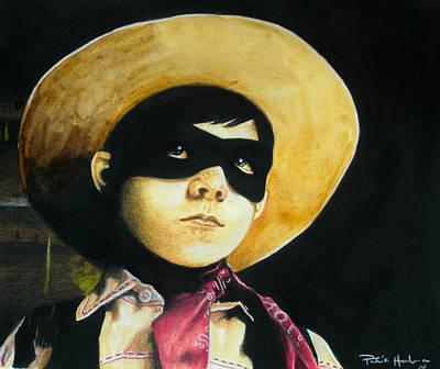 Lone Ranger Painting - Little Ranger by Patrick Harden