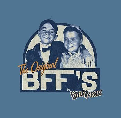 Show Digital Art - Little Rascals - Original Bffs by Brand A
