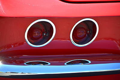 Abstract Male Faces - Little Red Corvette by Dean Ferreira