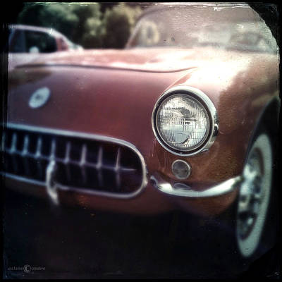 Photograph - Little Red Corvette by Tim Nyberg