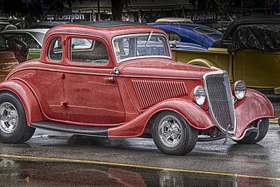 Photograph - Little Red Coup by Jack R Perry
