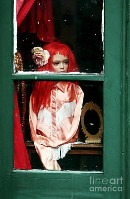 Photograph - Little Red-haired Girl by John Rizzuto