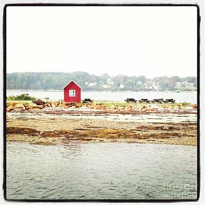 Photograph - Little Red Hut by Christy Bruna
