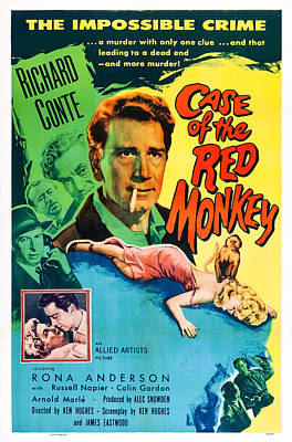 Little Red Monkey, Aka The Case Of The Art Print by Everett