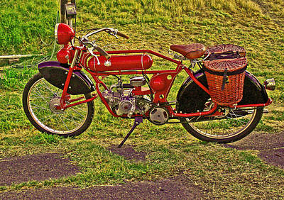 Photograph - Little Red Rider by Joseph Coulombe