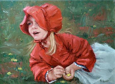 Painting - Little Red Ridinghood  by Viktoria K Majestic