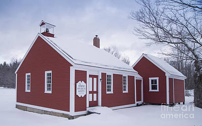 Photograph - Little Red School House by Alana Ranney