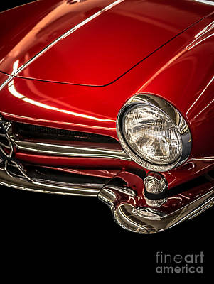 Transportation Royalty-Free and Rights-Managed Images - Little red sports car by Edward Fielding