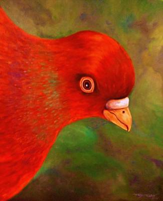 Painting - Little Red by Terry Jackson
