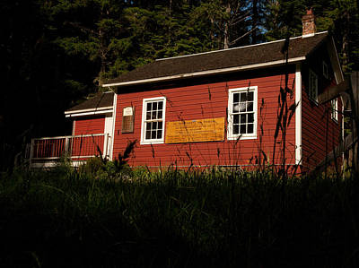 Little Red School House Photograph - Little Red by Wendy A Rosier