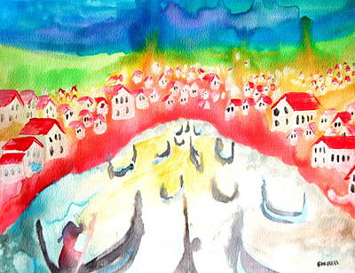 Little Red River Painting - Little River by Amy Sorrell