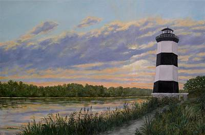 Little River Light 2 Art Print