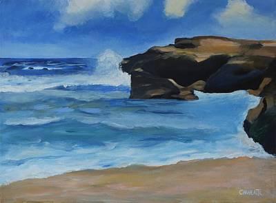 Nicaragua Painting - Little Rock 2 by Marino Chanlatte