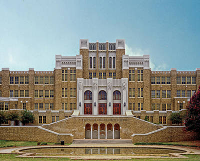 Arkansas Photograph - Little Rock Central High School by Mountain Dreams