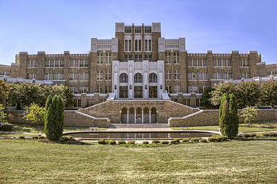 Photograph - Little Rock Central High School by Jason Politte