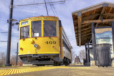 Photograph - Little Rock Streetcar by Jason Politte