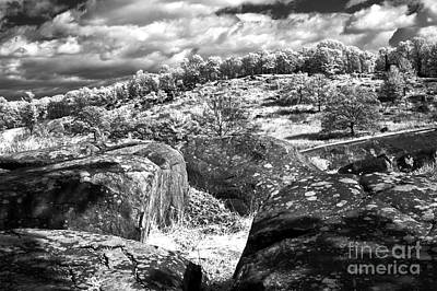 Devils Den Photograph - Little Roundtop Overlooking Devils Den by Paul W Faust -  Impressions of Light