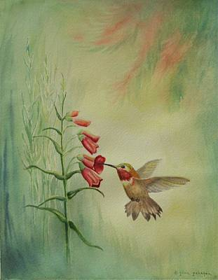 Little Rufous Art Print