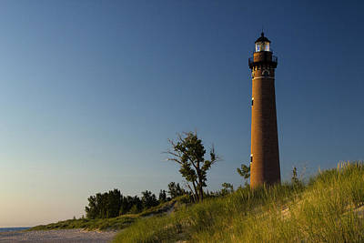 Photograph - Little Sable Lighthouse By Silver Lake Michigan No.557 by Randall Nyhof