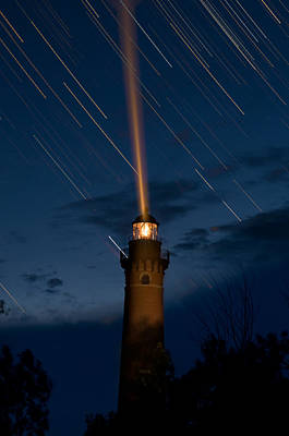 Lighthouses Photograph - Little Sable Lighthouse by Steve Gadomski