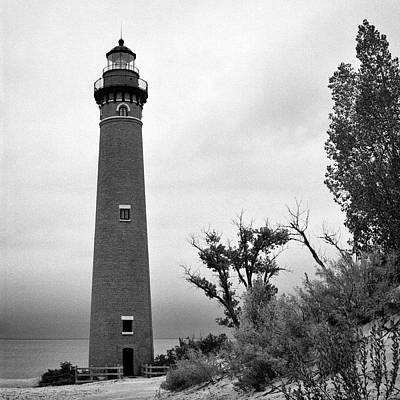 Photograph - Little Sable Point Lighthouse IIi by Jeff Burton