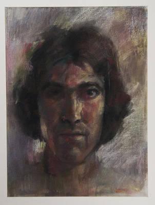 Little Selfportrait Art Print by Paez  Antonio