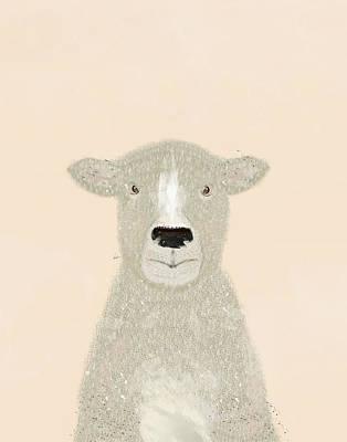 Painting - Little Sheep by Bri B