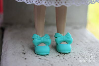 Wall Art - Photograph - Little Shoes by Sara Ricer