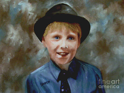 Painting - Little Sinatra by Sharon Burger
