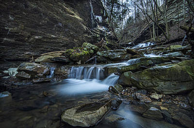 Photograph - Little Soddy Creek1 by Barry Cole