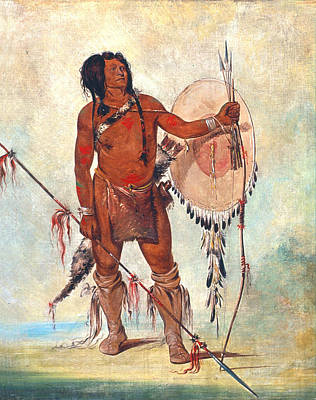 Comanche Painting - Little Spaniard, 1834 by Granger