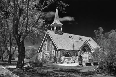 Photograph - Little Stone Church by Guy Whiteley