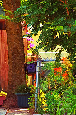 Photograph - Little Summer Garden - Digital Paint 3 by Debbie Portwood