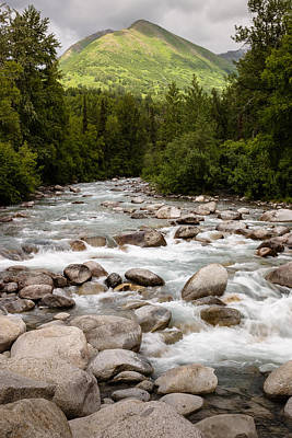 Photograph - Little Susitna River by Richard Smith