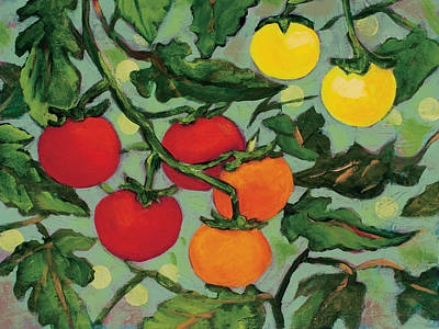 Little Tomatoes Original by Jen Norton