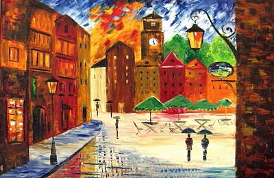 Little Town Art Print