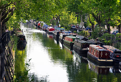 Photograph - Little Venice by Keith Armstrong