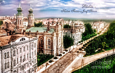 Reconstruction Photograph - Little Vienna by Mo T