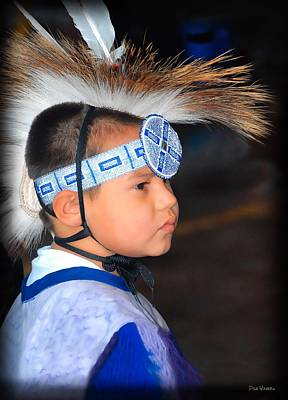Photograph - Young Wacipi Dancer by Dyle   Warren