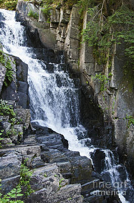 Photograph - Little Wilson Falls Maine by Glenn Gordon