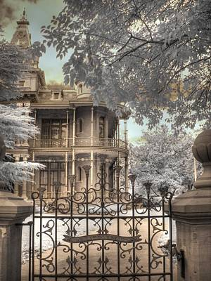 Infared Photograph - Littlefield Home by Jane Linders