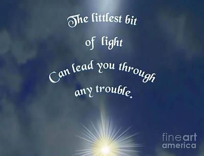 Drawing - Littlest Llight by Belinda Threeths